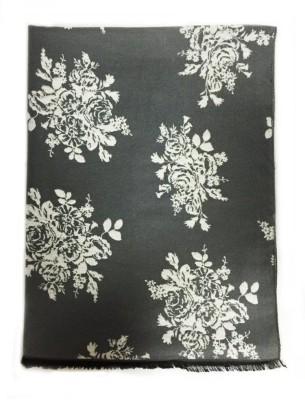 The Vatican Viscose Floral Print Women's Shawl