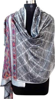 Forever 18 Wool Printed Women's Shawl