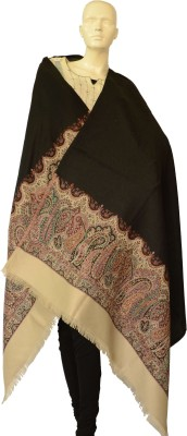 Jupi Pashmina, Wool Floral Print, Paisley Women's Shawl