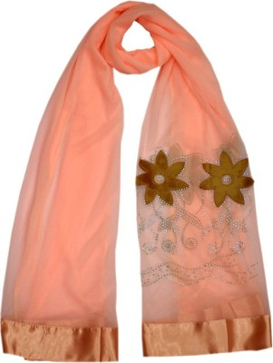Parvin Polyester Lycra Blend Embellished Women's Shawl