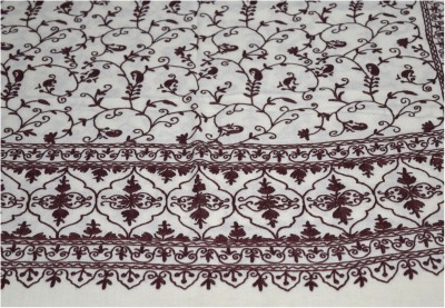 Sofias Wool Embroidered Women's Shawl