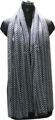 Selfiwear Wool Polka Print Mens Shawl