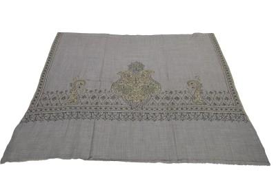 Sofias Cashmere Embroidered Womens Shawl