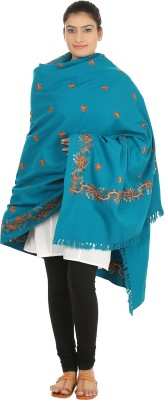Hashcart Wool Embroidered Women's Shawl