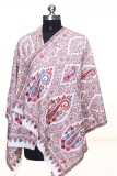 KD STOLES N SCARFS Wool Embroidered Wome...