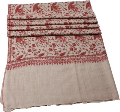 Shawls Of India Wool Floral Print Women's Shawl