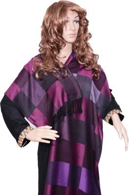 Kinari Viscose Checkered Women's Shawl