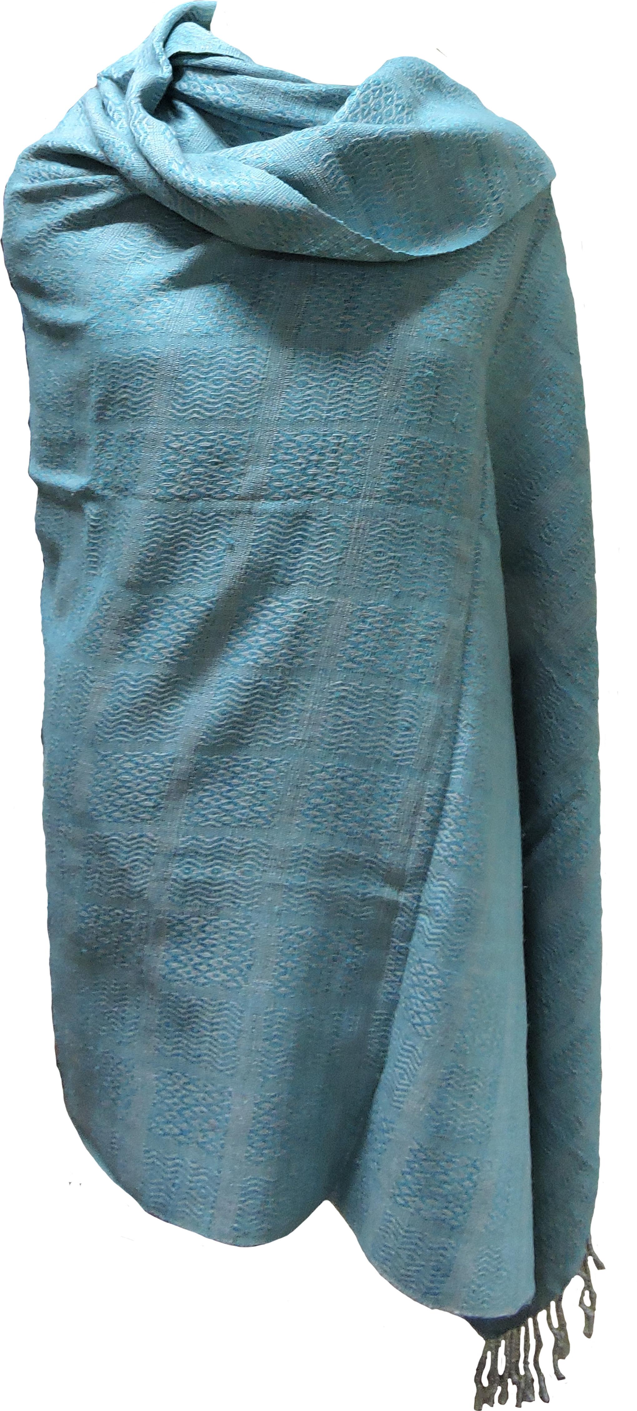 Tasar 100% Natural Silk Solid Womens Shawl