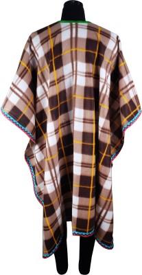 Super Drool Wool Checkered Women's Shawl