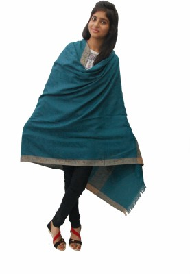 Unnati Wool Self Design Women's Shawl