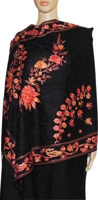 Indian Fashion Guru Wool Embroidered Women's Shawl