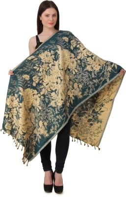 RoseBella Woven Wool Women's Stole, Scarf