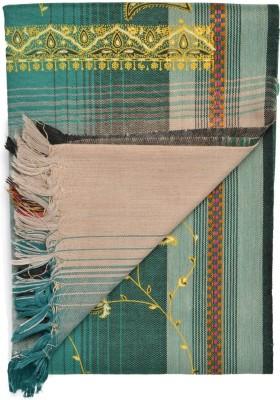 Btex Wool Polka Print Women's Shawl