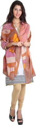 Kashmina Cotton Self Design Women's Shawl