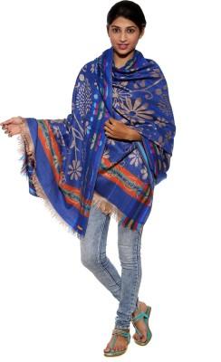 Covetindia Viscose Floral Print Women's Shawl