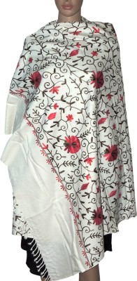 Indian Fashion Guru Cashmere Embroidered Women's Shawl