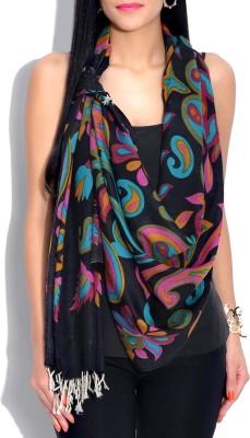 Indian Fashion Guru Wool Printed Women's Shawl