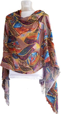skhoza Viscose Printed Women's Shawl