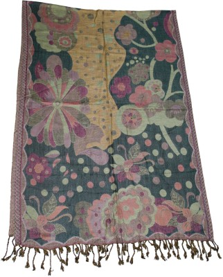 Shawls Of India Viscose Floral Print Women's Shawl