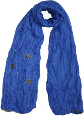 Parvin Polyester Lycra Blend Applique Women's Shawl