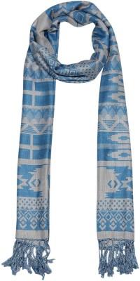 Shawls of India Silk, Wool Printed Women's Shawl