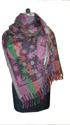 Sdpw Wool Woven Women's Shawl
