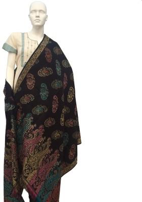 Jupi Wool, Pashmina Self Design Women's Shawl