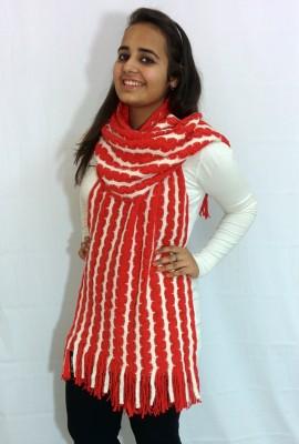 Cape Coral Polyester, Acrylic Self Design Women's Shawl