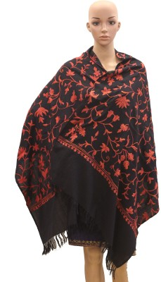 The Royal Heritage Cotton Embroidered Women's Shawl