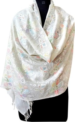 Forever 18 Pashmina Embroidered Women's Shawl