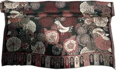 Gkestore Wool Animal Print Women,s Shawl