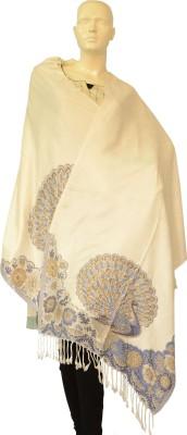 Jupi Pashmina, Viscose Floral Print Women's Shawl