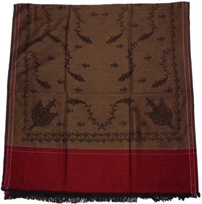 Vrinde Wool Solid Women's Shawl
