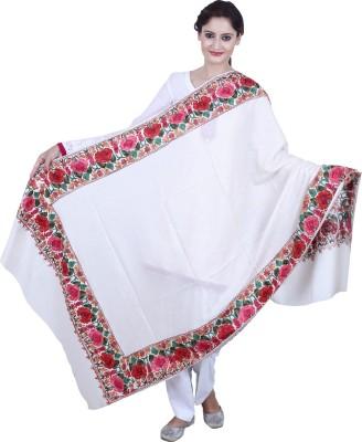 MadeinMyIndia Wool Embroidered Women's Shawl