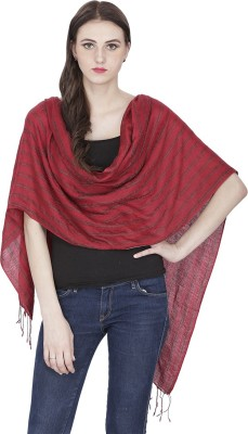 Shawl-e-Kashmir Wool Striped Women's Shawl