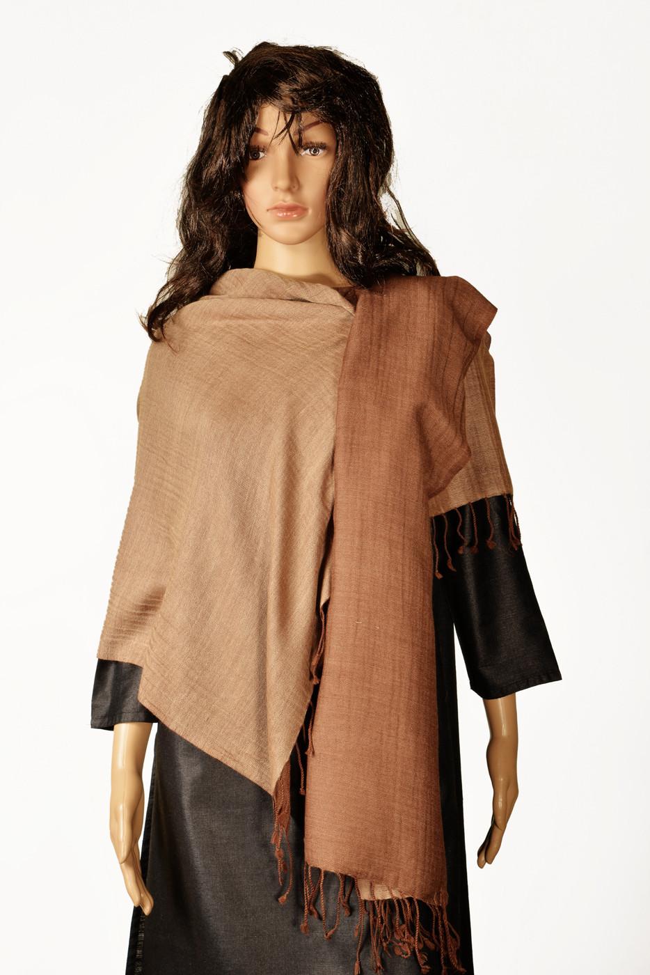 Kinari 02-E Pashmina Solid Womens Shawl