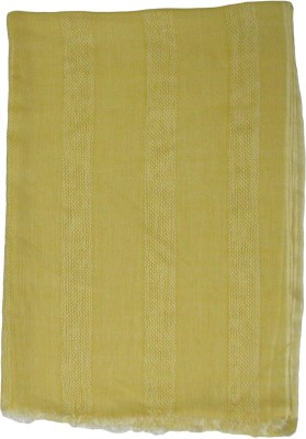 Shawls Of India Wool, Viscose Self Design Men's Shawl