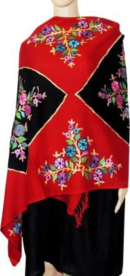 Indian Fashion Guru BO-44A-0009woolen shawl Wool Embroidered Women's Shawl