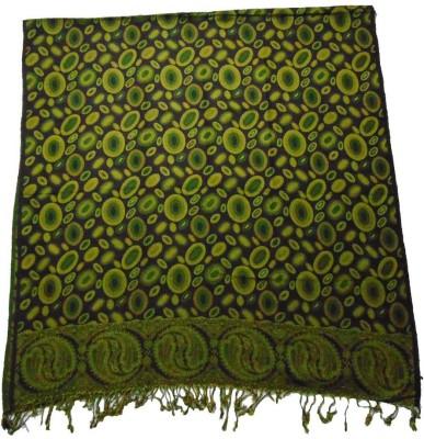 Vrinde Wool Self Design Women's Shawl