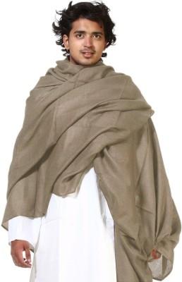 Btex Wool Solid Mens Shawl