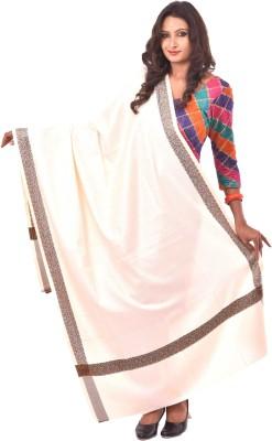 Weavers Villa Poly Cotton Self Design Women's Shawl