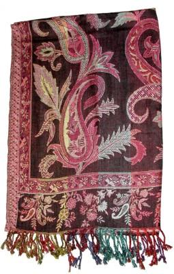 Shawls Of India Multi Viscose Floral Print Women's Shawl