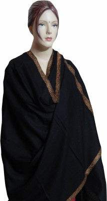 Aksh Wool Embroidered Women's Shawl