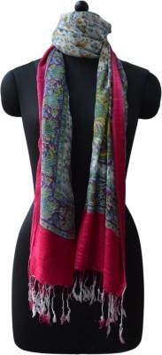 Vedic Deals Viscose Floral Print Women's Shawl