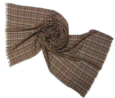 Shawls Of India Wool Checkered Women's Shawl
