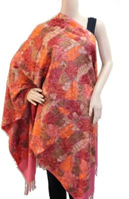 Matelco Wool, Pashmina Embroidered Women's Shawl