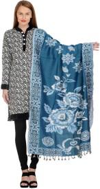 Hardys Wool Self Design Women's Shawl
