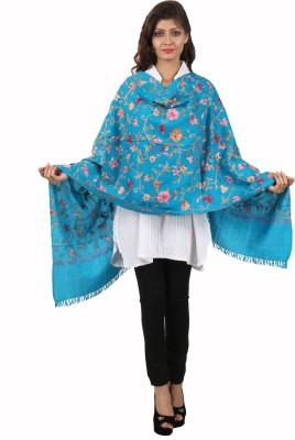 Kashmina Wool Floral Print Women's Shawl