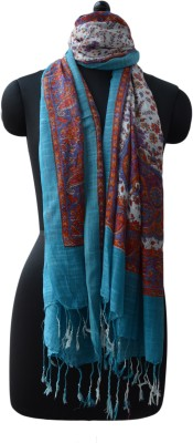 Vedic Deals Viscose Floral Print Women's Shawl
