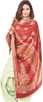 Weavers Villa Polyester Wool Blend Paisley Women's Shawl